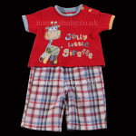 Gorgeous Boys Day Wear Giraffe Set