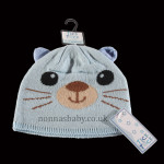 Cute Knitted Animal Hat – Blue Cat
