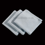 Traditional Blue Muslins (Pack of Three)
