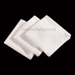 Traditional White Muslins (Pack of Three)