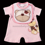 Girls Cute Bear Romper