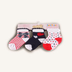 Pack of Girls Socks (3 pairs)