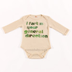 "Baby Bodysuit ""I Fart in Your General Direction"""