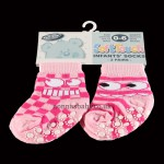 Two Pairs of Anti Slip Socks for Girls