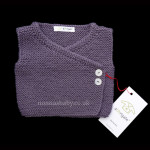 Unisex Baby Vestmono Grape