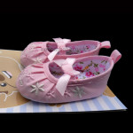 Cotton Flower Shoes – Cotton Candy