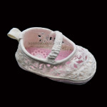 Guipure Lace Baby Shoes