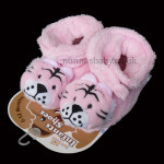 Fleece Infants Shoes Tiger – Pink