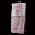 Cute Pink Diamond Baby Tights