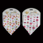 Colourful Bandana Bibs For Girls (Set of Two)