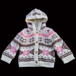 Beautiful Knitted Hooded Cardigan
