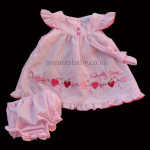 """Naturally Sweet"" Pink Baby Dress"
