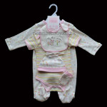 """My Flower Garden"" 5 Piece Layette"