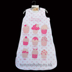 "Sleeping Bag ""Mummy's Little Cupcake"""
