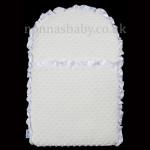 Whimsical White Mat
