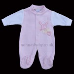 "Pink Sleepsuit ""Sweet Dreams"" Premature Baby"