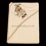 Tiny Ted Hooded Baby Towel