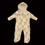 "Unisex Fleece ""Giraffe"" Pramsuit"