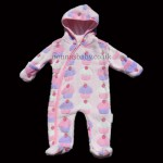 "Fleece ""Cupcake"" Pramsuit"