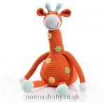 Fair Trade Cotton Crochet Large Giraffe