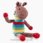 Fair Trade Cotton Crochet Horse Rattle