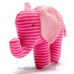 Fair Trade Organic Cotton Buddy Elephant Pink