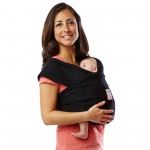 Baby K'tan Carrier Soft Cotton Black