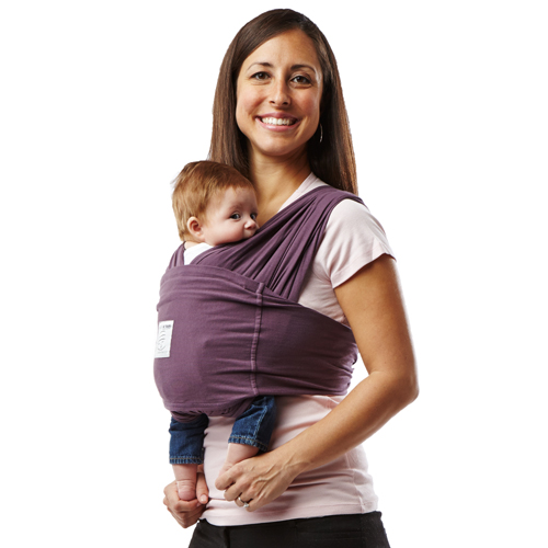 Baby K Tan Carrier Soft Cotton Eggplant Nonna S Baby