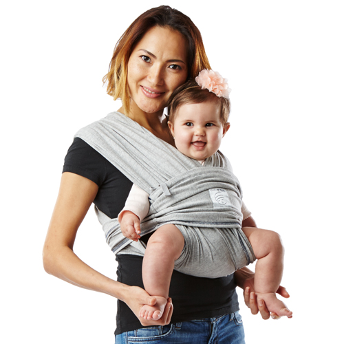 Baby K Tan Carrier Soft Cotton Heather Grey Nonna S Baby