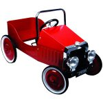Great Gizmos Classic Pedal Car Red